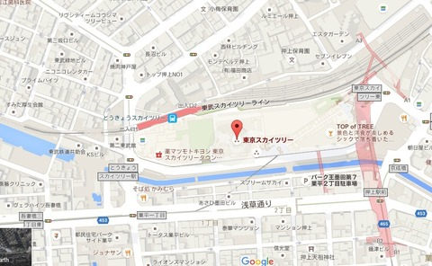 Google Mapをブログに貼りつける方法