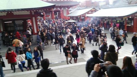 2015年東京旅行記 その3(浅草寺)